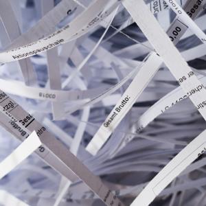 Datenschutz, DSGVO, Papier, bedrucktes Papier, Aktenvernichter, Schredder | WiNN Bürotechnik Bamberg + Leonhardt & Baumeister Coburg