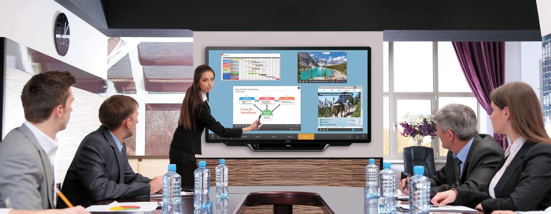 Präsentations- und Konferenztechnik